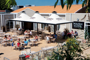 Kingston Guardian: Haven holiday review bar terrace