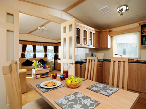 Haven holiday review caravan interior