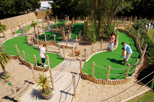 Kingston Guardian: Haven holiday review crazy golf