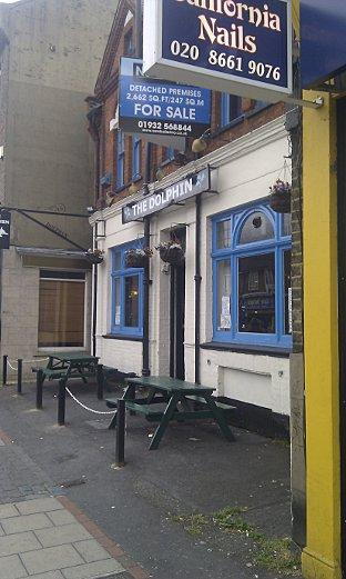 Pubspy: The Dolphin, Sutton