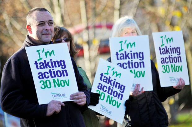 92 per cent of school affected by public sector strikes