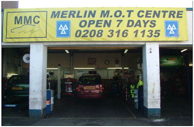 Merlin MOT Centre