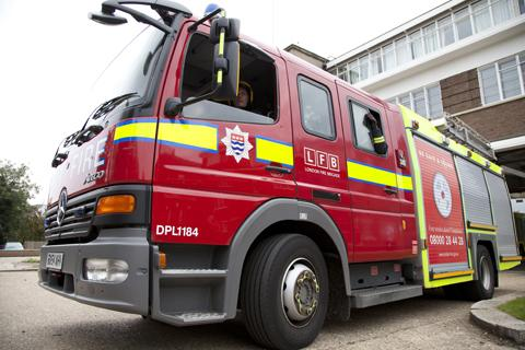 Residents kept in rooms during care home fire