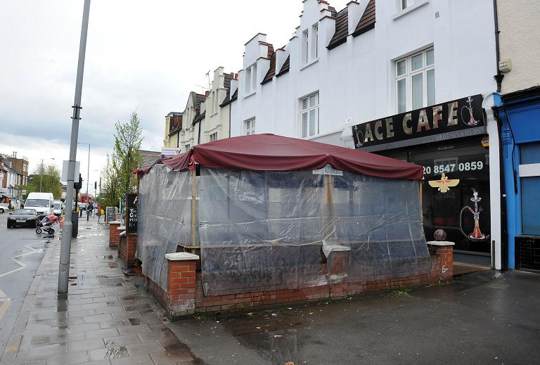 Ace Cafe in Richmond Road, Kingston