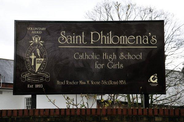 Sixth formers at St Philomena's in Carshalton were given the presentation