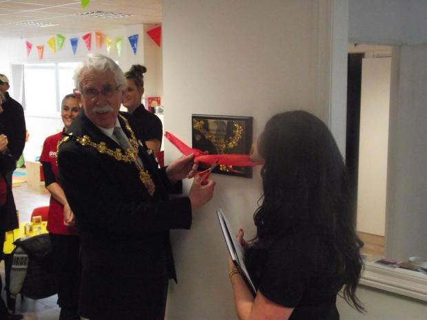 Croydon Mayor Cllr Graham Bass declared the nursery open