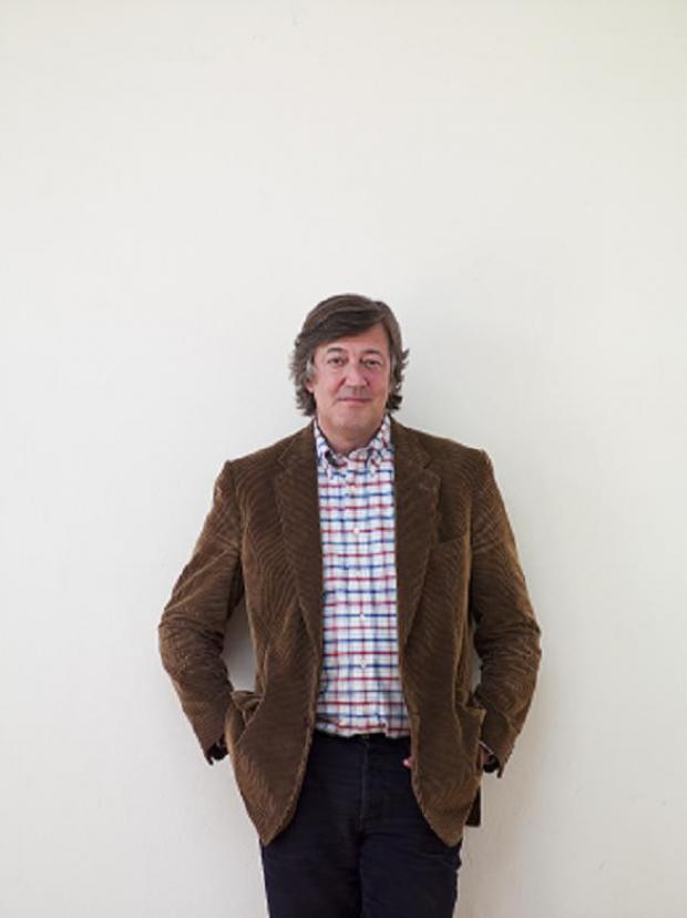 Stephen Fry donated money to help Kingston Youth Arts Festival's