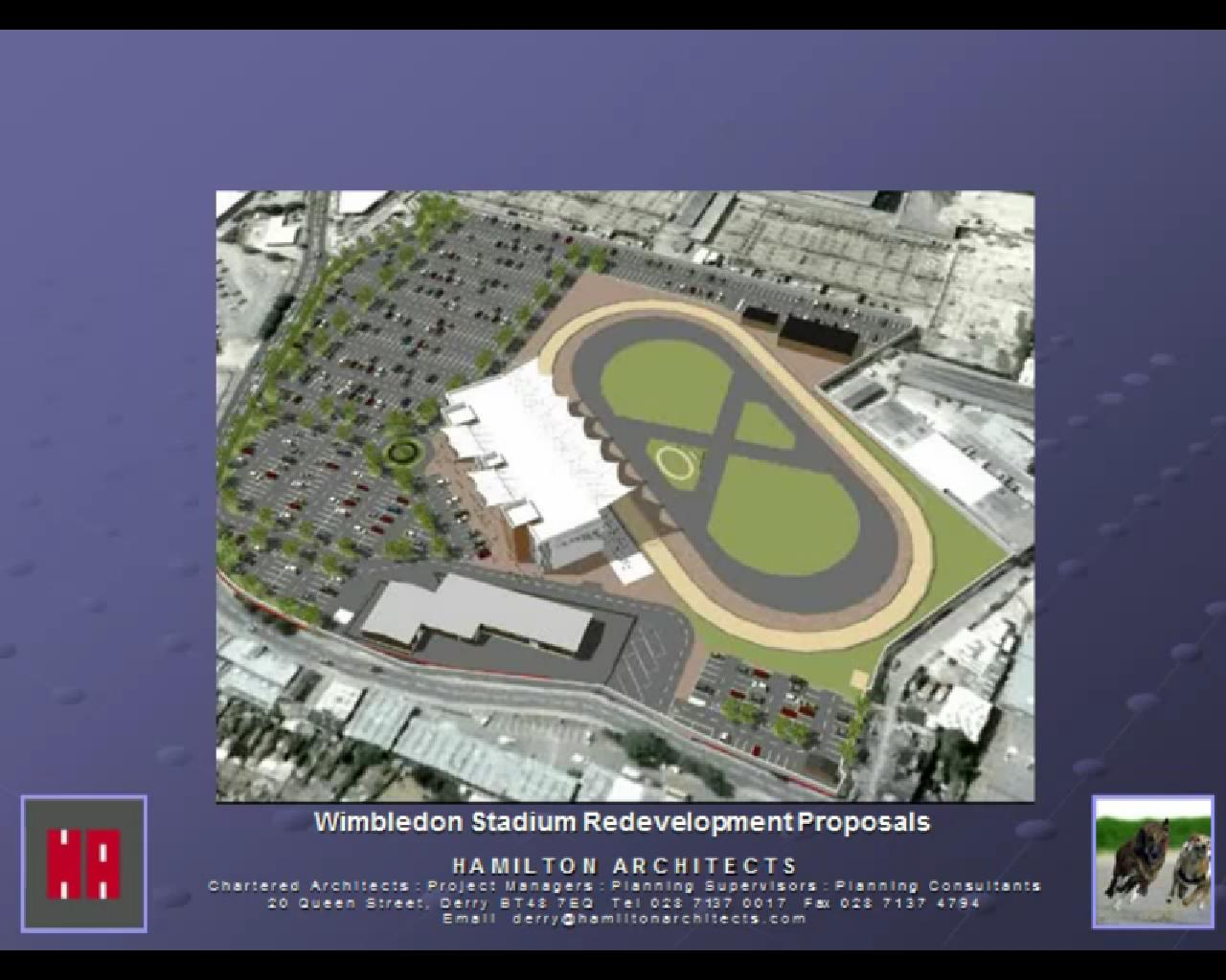 Ambitious plans for brand new dog track