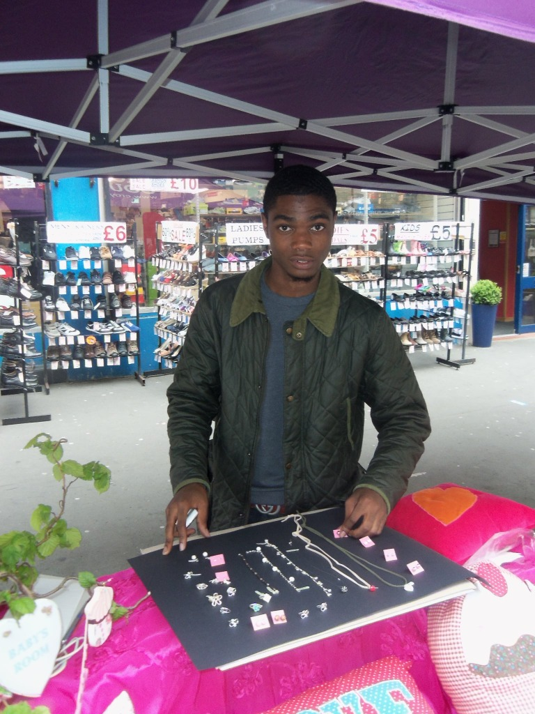 Young businessman features on new TV show