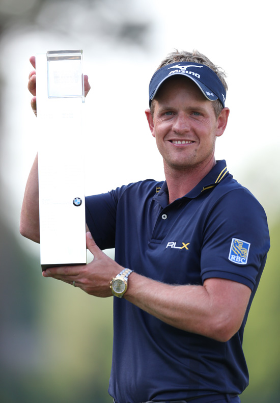 World number one Luke Donald