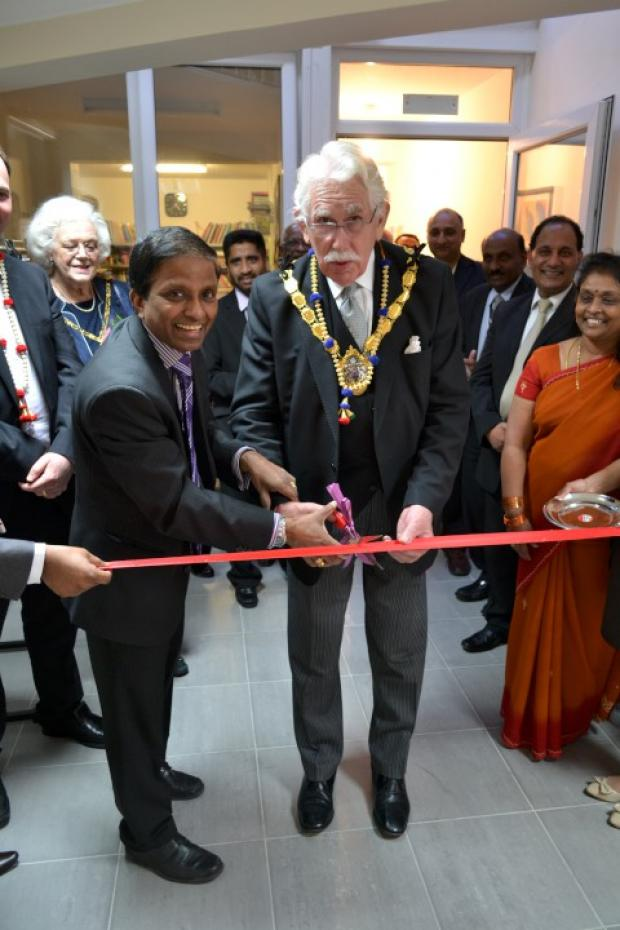 Former Croydon Mayor Graham Bass attended the opening