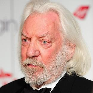 Donald Sutherland has been handed a top French honour