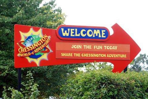 Girl 'fighting for her life' after Chessington fall