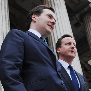Chancellor George Osborne has the backing of Prime Minister David Cameron over his assessment of problems in the eurozone, Downing Street said