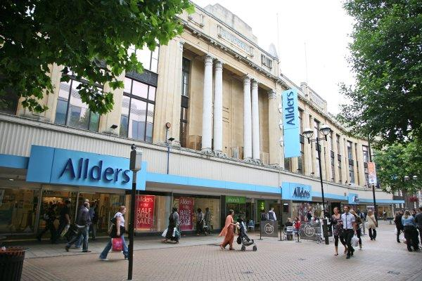 Allders in Croydon has been placed in administration