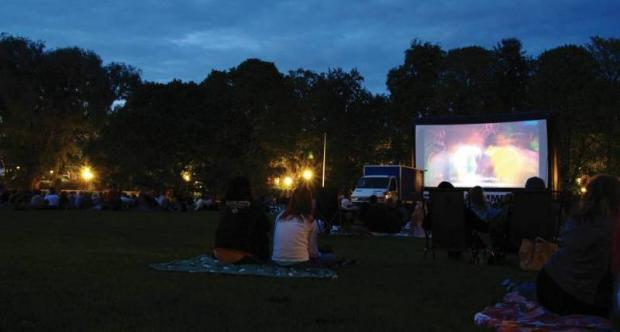 Pop up summer cinema brings cult films Morden
