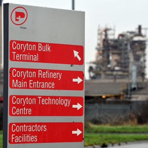 More than 800 jobs are at risk at Coryton oil refinery in Essex