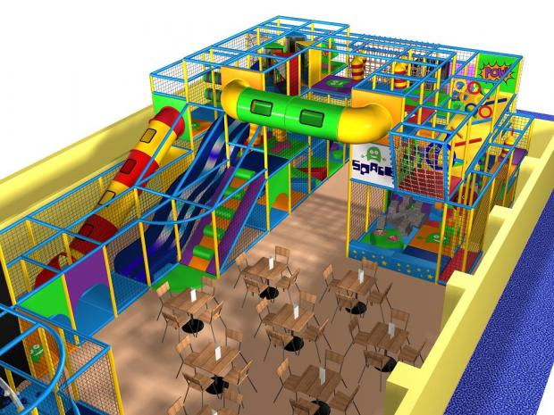 Two-storey soft play area part of Hawker centre revamp