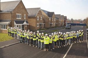 Forty apprentices are working on the eco-friendly development.