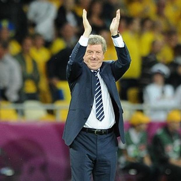 Manager Roy Hodgson is happy for big things to be expected of England