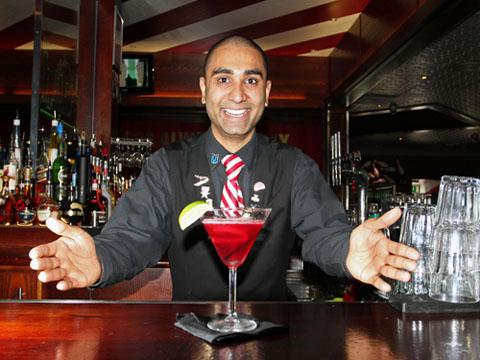 Kingston Guardian: Croydon bartender Priyan Amin is set to mix it with the best