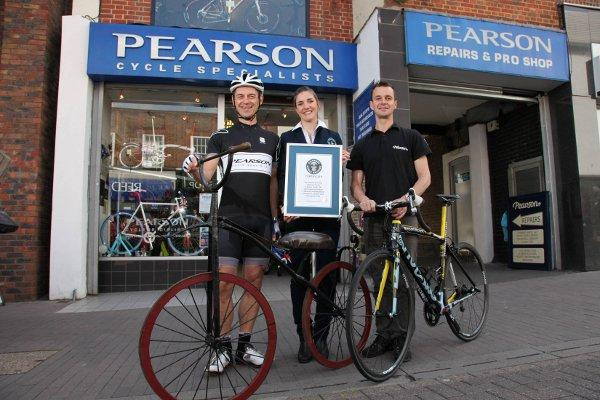 Pearsons is officially the oldest bike shop in the world