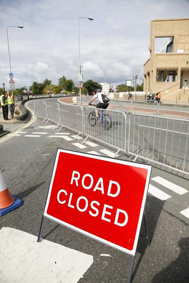 Hundreds of Kingston roads to close during Olympic cycle races
