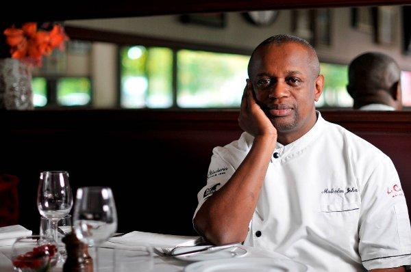Malcolm John is concerned about his restaurant Le Cassoulet