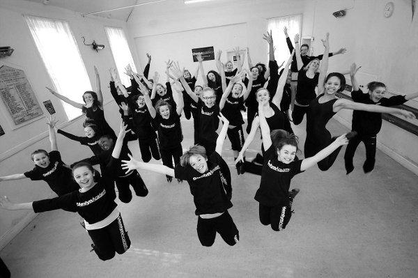 Dancers at Glenlyn Academy