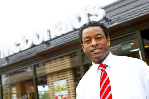 Mike Smith, manager of McDonald's, will be closing his fast food Mitcham franchise next month