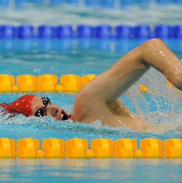 Sascha Kindred secured the silver medal in the SM6s 200m individual medley