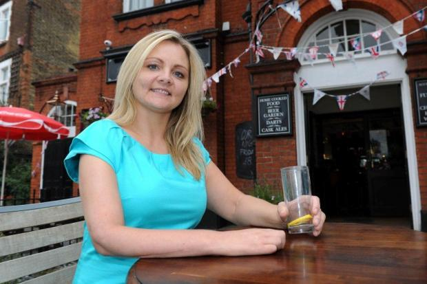 """I want my arm cut off"" says desperate Purley mum Nicky Wilding"