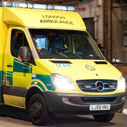 Woman hospitalised after A3 crash