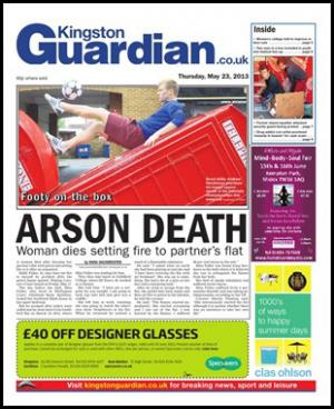 Click here to read the latest Kingston Guardian E-Newspaper