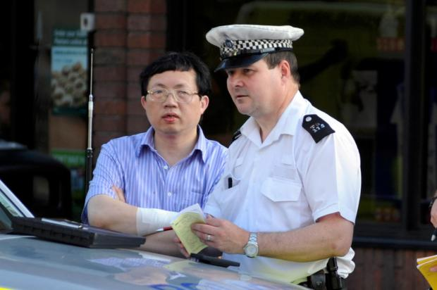 Sorry: Chinese medicine manager Shibo Li apologised after Kingston crash