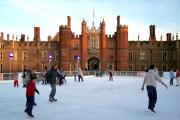 Magical: The Hampton Court Palace ice rink