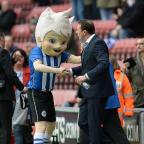 Kingston Guardian: Wigan boss Malky Mackay, right, thanked the club's fans and staff for the welcome