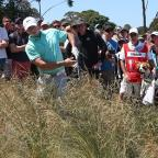Kingston Guardian: Rory McIlroy struggled badly just before the turn at the Australian Open (AP)