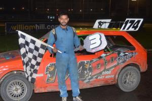Motorsport: D'Souza has his eye on more wins at Wimbledon Raceway