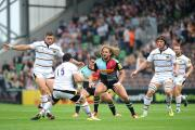 Looking up: Quins not in European Cup next season is unthinkable, says Luke Wallace