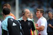 Tough day: Quins director of rugby Conor O'Shea