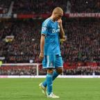 Kingston Guardian: Wes Brown was wrongfully sent off against Manchester United on Saturday