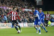 Influential: Jota made another decisive contribution to Brentford's campaign