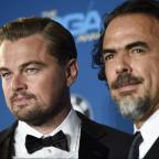Kingston Guardian: Leonardo DiCaprio turns up to watch Alejandro Inarritu win big at the Directors Guild Awards for The Revenant