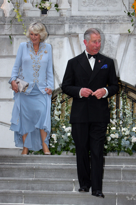 Prince Charles and Camilla enjoy White Lodge ballet